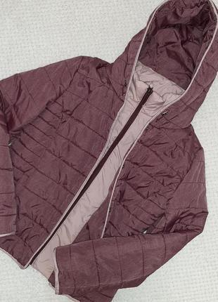 Легкая, теплая стеганая деми куртка jean pascale р. 46-48 (14/42)3 фото
