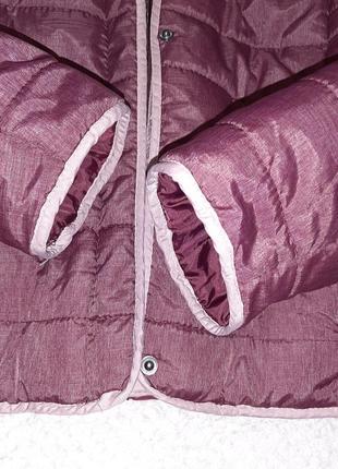 Легкая, теплая стеганая деми куртка jean pascale р. 46-48 (14/42)4 фото