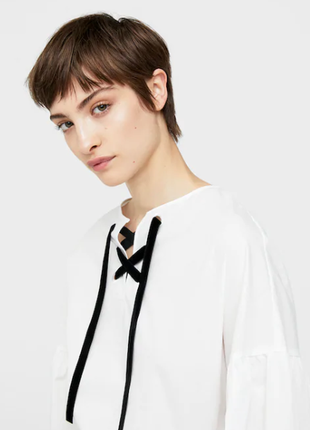 Блузка сорочка топ манго mango2 фото