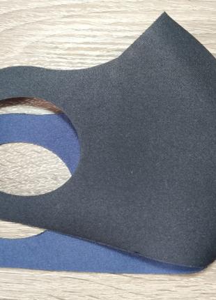 Захисна маска пітта, багаторазові маски з 3х слойної тканини (не медичні)7 фото