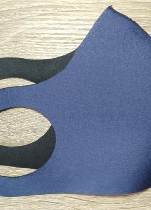 Захисна маска пітта, багаторазові маски з 3х слойної тканини (не медичні)9 фото