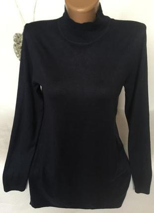Легкий удлиненный свитер1 фото