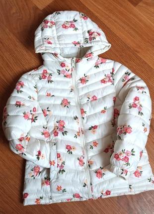 Дэми куртка zara на 7-8 лет