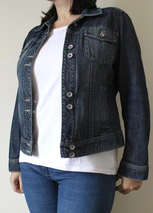 Стильная джинсовая куртка next