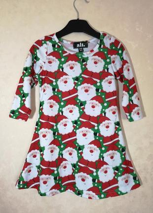 Новогоднее платье на девочку 2-3 года