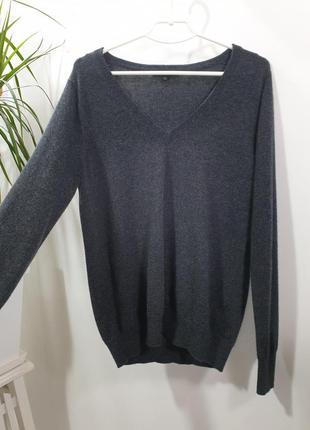Пуловер кофта 100% кашемир uniqlo