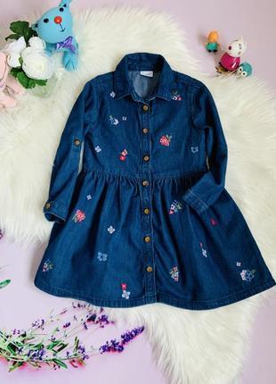 Платье f&f девочке 3-4 года