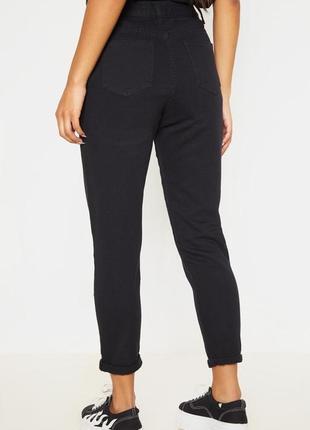 Базовые чёрные джинсы. dad momjeans, момчики4 фото