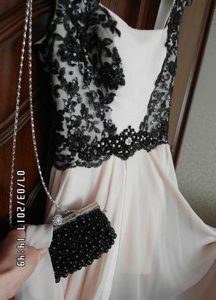 """Шикарное выпускное платье! куплено в салоне """"love story"""" р.xs"""