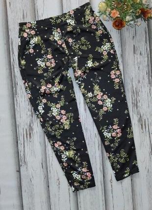 Укороченные брюки цветы atmosphere p l-xl