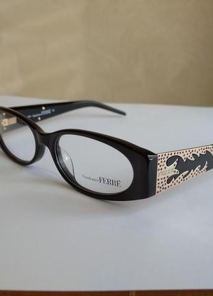 Фирменная оправа очки с камнями swarovski ferre gf36104 новая