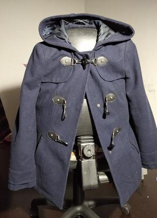 Пальто синее в подарок
