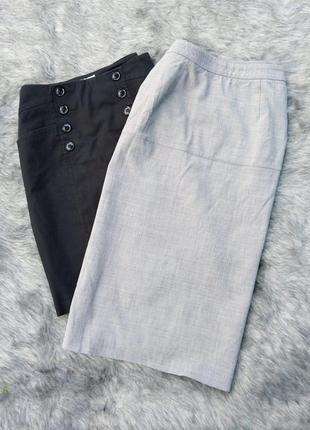 Sale базовая юбка карандаш серого цвета
