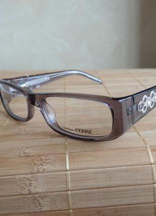 Фирменная оправа под линзы,очки женские оригинал g.ferre gf34903