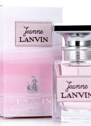 Lanvin jeanne ланвин жанна дженн жанн парфюмированная вода оригинал