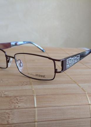 Фирменная оправа под линзы очки оригинал g.ferre gf38804