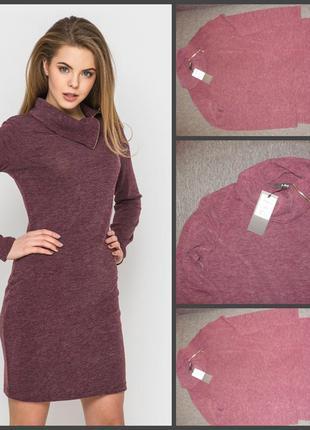 Платье теплое ангора. 48-50 размер