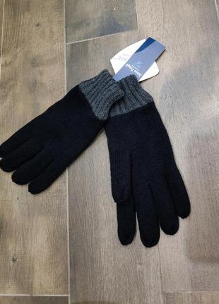 Утепленные мужские перчатки james pringle, новые!