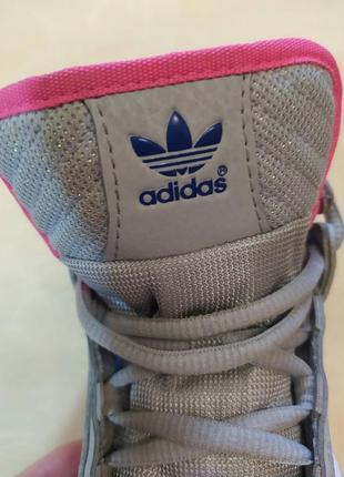 Высокие кроссовки adidas оригинал р 26.5 стелька 17 см2 фото