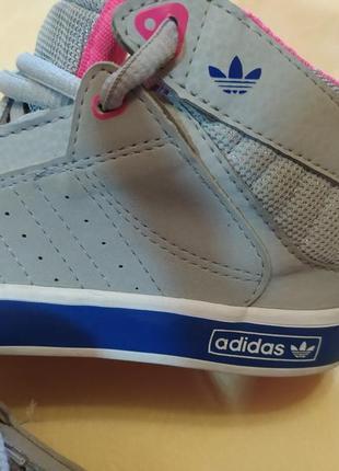 Высокие кроссовки adidas оригинал р 26.5 стелька 17 см4 фото