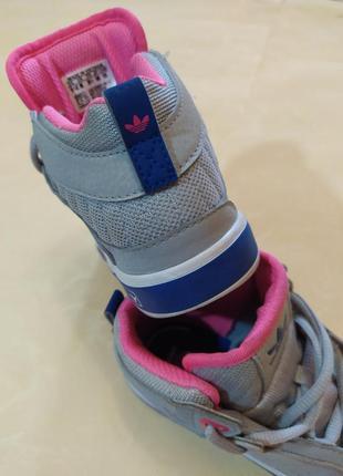 Высокие кроссовки adidas оригинал р 26.5 стелька 17 см6 фото