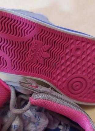 Высокие кроссовки adidas оригинал р 26.5 стелька 17 см7 фото