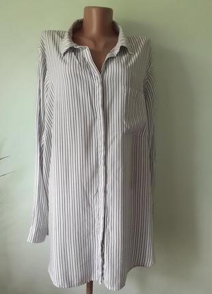 Рубашка женская,  большой размер