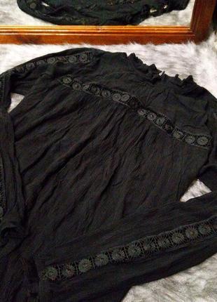 Sale блуза кофточка из натуральной вискозы h&m2 фото