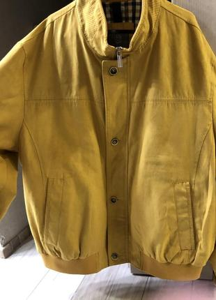 Замшевая куртка bugatti