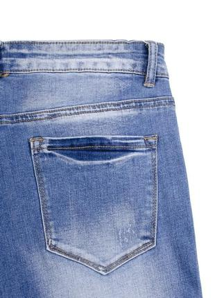 Женские синие джинсы2 фото