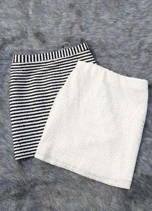 Sale кружевная юбка оттенка айвори