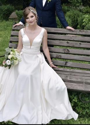 Весільна сукня бренду hadassa модель esmeralda.