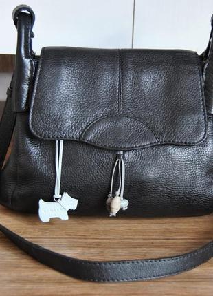 Кожаная сумка кроссбоди radley / шкіряна сумка