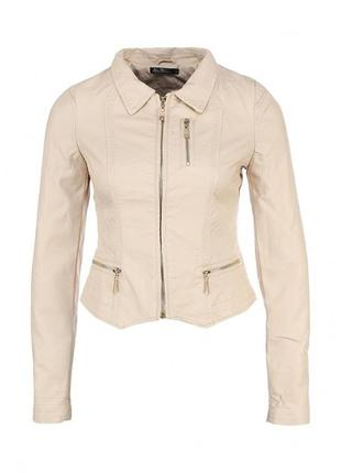 Куртка бежевая kira plastinina, xs