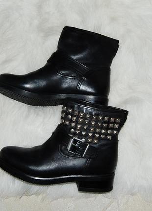 Ботинки осенние кожа 37.5 р