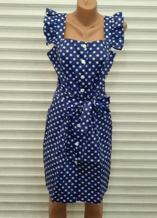 Модный женский сарафан. две разной ткани (лен и коттон)