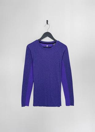 H&m sport фіолетова термо-кофта