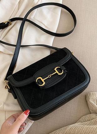 Сумочка женская сумка в ретро стиле кроссбоди