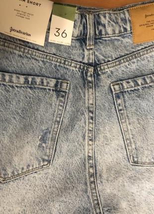 Новые джинсовые шорты stradivarius