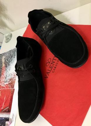 Мужские замшевые туфли van kristi р.43 28см