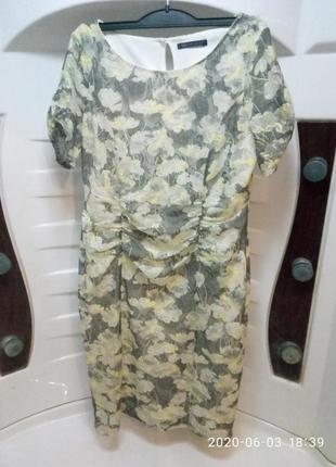 Красивое нежное ажурное платье marks & spencer 50-52р