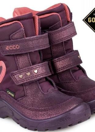Сапоги сапожки еко, ботинки еко, мембранные сапоги, термосапоги ecco