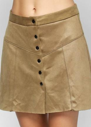 Оливковая юбка imperial
