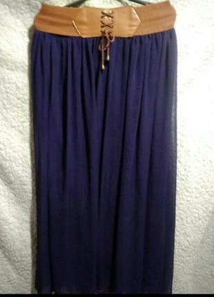 Шифоновая юбка франция