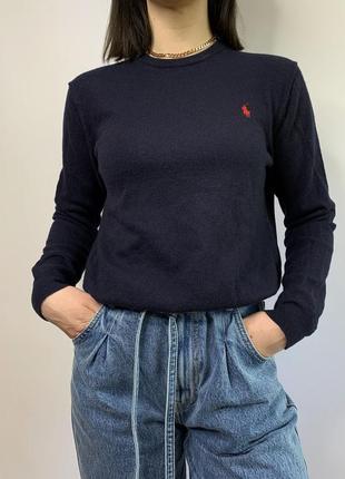 Оригинальный шерстяной свитер polo ralph lauren