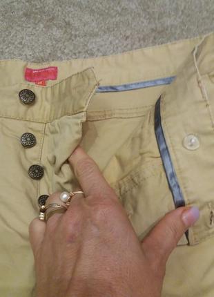 Брюки джинсы на болтах цвета кемел  48\50р