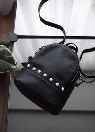 Сумка-рюкзак с бусинками pull&bear