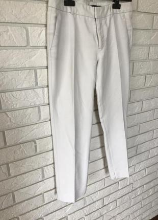 Белые брюки zara