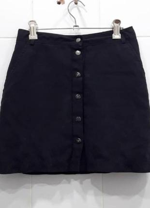 Трендовая юбка трапеция на кнопках new look