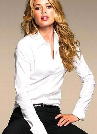 Актуальная белая рубашка оверзайз, сорочка, блузка, бойфренд